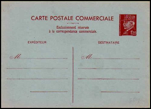 Carte commerciale interzone 1F20