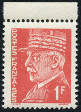 Pétain 1F Intelligence Service