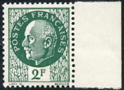 Pétain 2F Intelligence Service