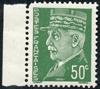 Pétain 50c Intelligence Service