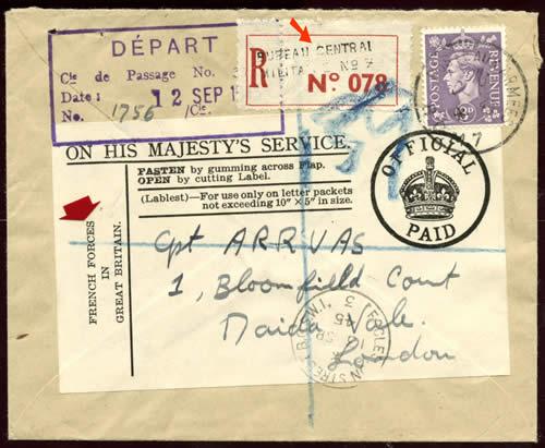 courrier fran 231 ais en grande bretagne 1940 1945