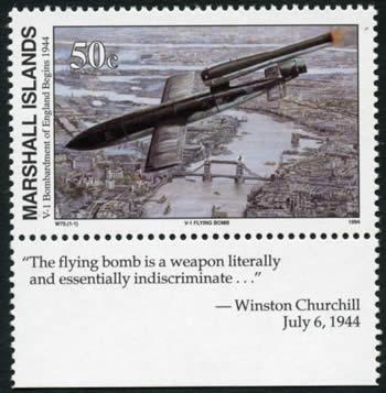 missile de guerre allemande