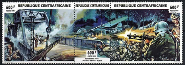 Pegasus Bridge Centrafrique