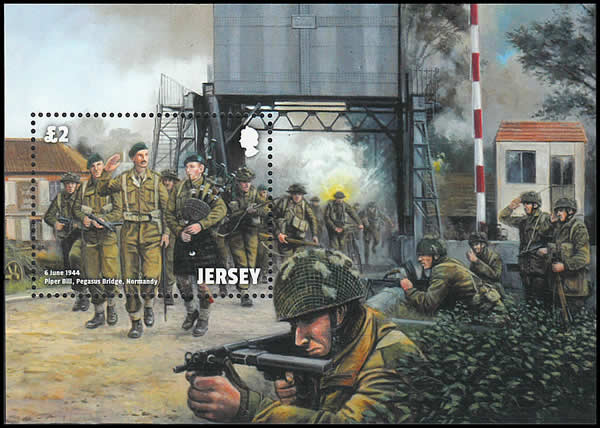 pegasus bridge Jersey