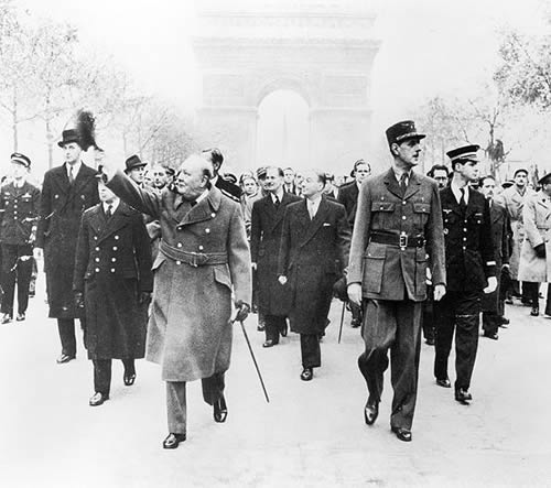 De Gaulle et Churchill 11/11/44