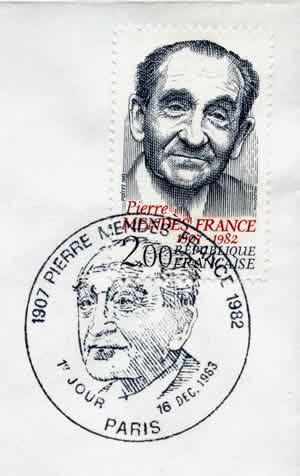 Pierre Mendès-France FDC
