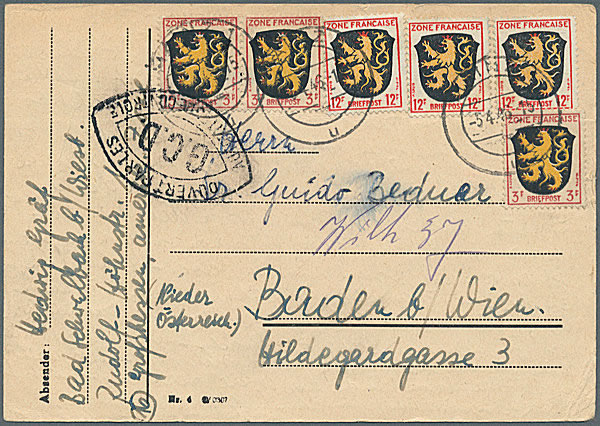 censure gcd-sur carte postale