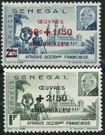 AOF Oeuvres coloniales
