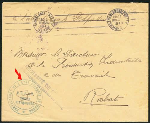 Protectorat de l'Etat Français 1943