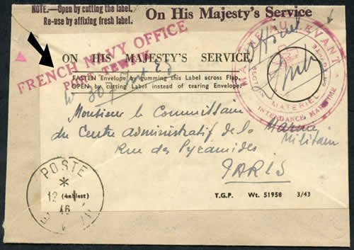 1943 histoire postale de l 39 empire colonial fran ais en guerre - Port irlandais en 7 lettres ...