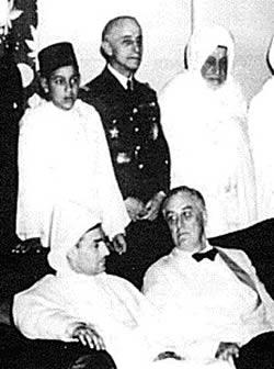 rencontre Roosevelt Mohamed V