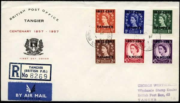 Centenaire poste britannique à Tanger