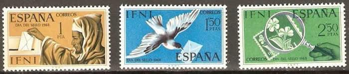 Derniers timbres de l'IFNI