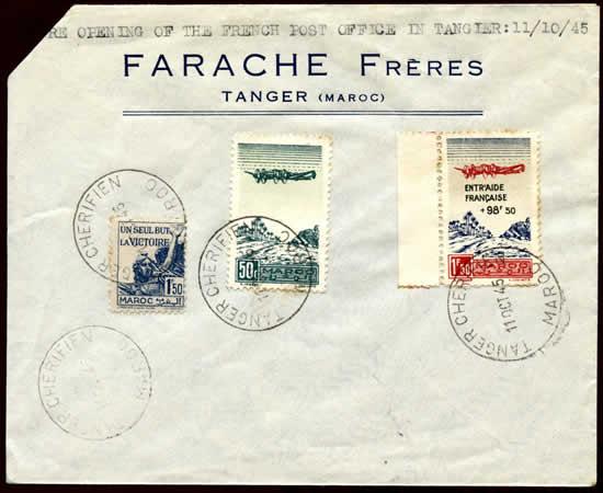 Réouverture Poste Française à Tanger