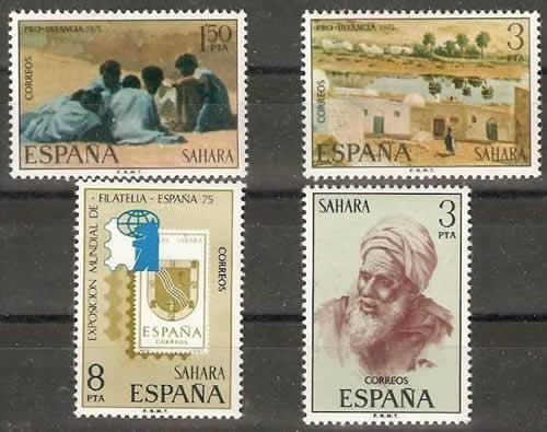 Derniers timbres du Sahara Espagnol