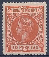 Timbre Rio de Oro 1905