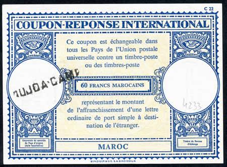 CRI 60 Francs marocains