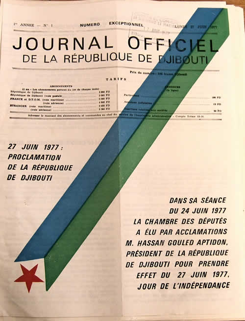 Journal Officiel de l'Indépendance