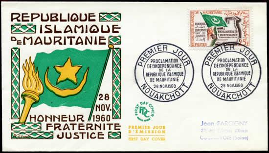 Indépendance de la Mauritanie