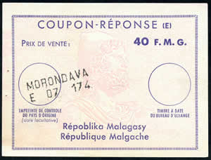 CRE 40 Francs Malgaches type Ex 10