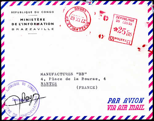 Courrier Officiel du Ministère de l'Information