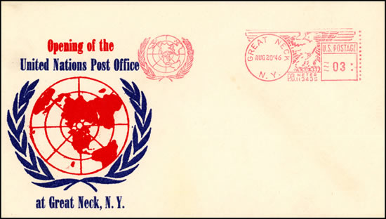 EMA ONU Great Lake FDC