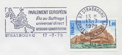 OMEC session constitutive du Parlement Européen 1979