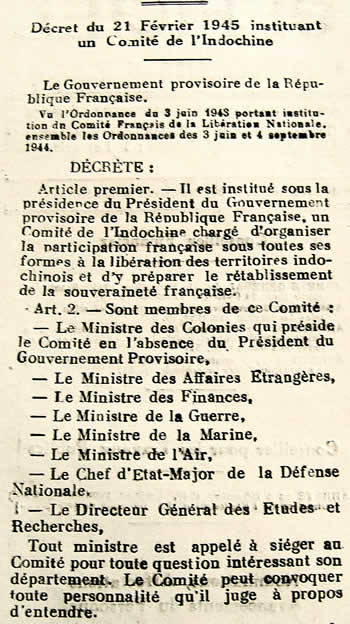 Comité de l'Indochine